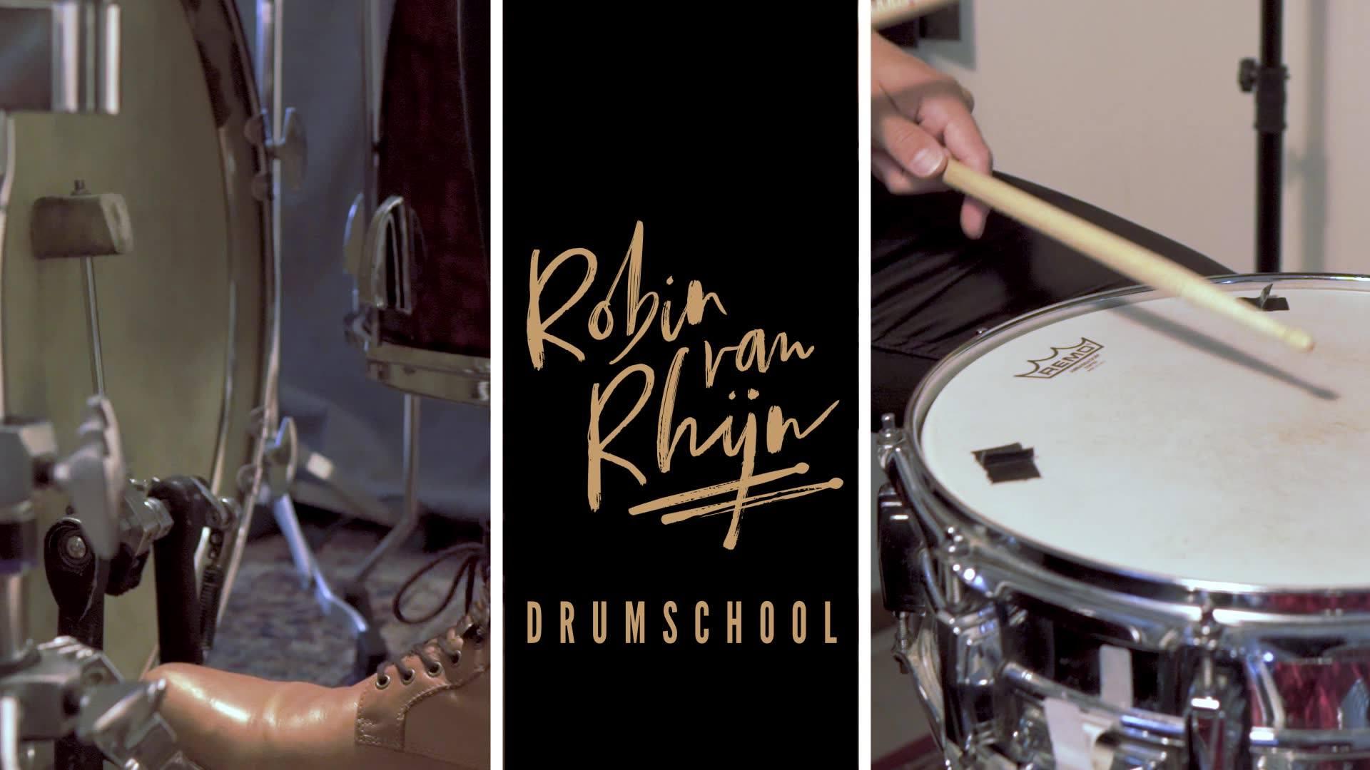 drumschool robin omslag